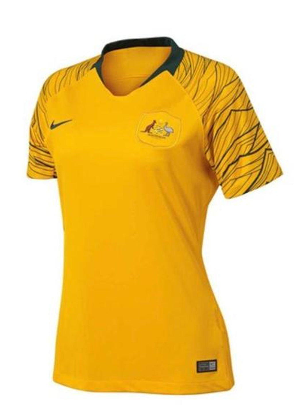 NIKE WOMENS SOCCEROOS 2018 STADIUM HOME JERSEY <BR> 893943 739