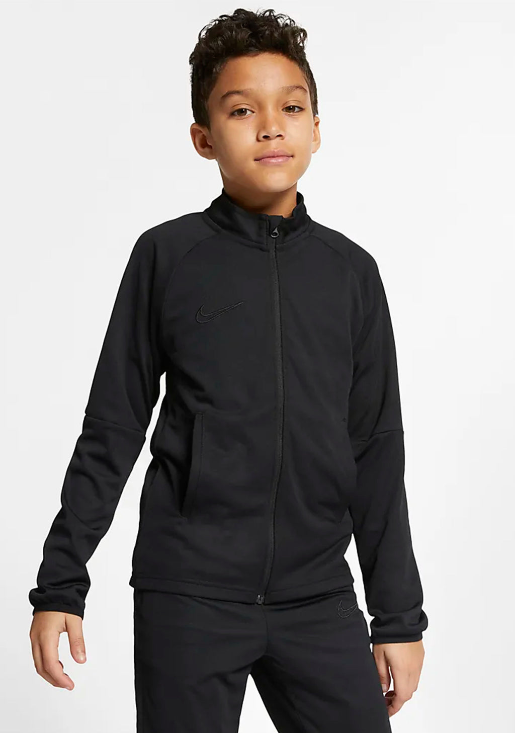 NIKE YOUTH DRI-FIT ACADEMY TRACKSUIT BLACK <BR> AO0794 011