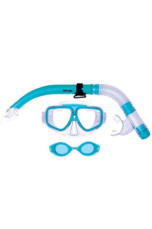MIRAGE NOMAD MASK & SNORKEL SET,- Jim Kidd Sports