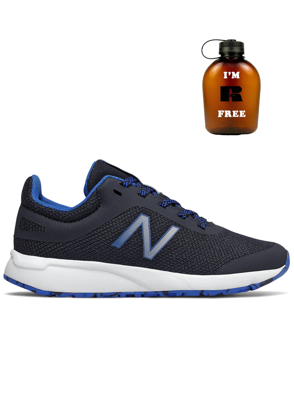 NEW BALANCE YK455GR JUNIOR WITH FREE 1L BOTTLE <br> YK455GR