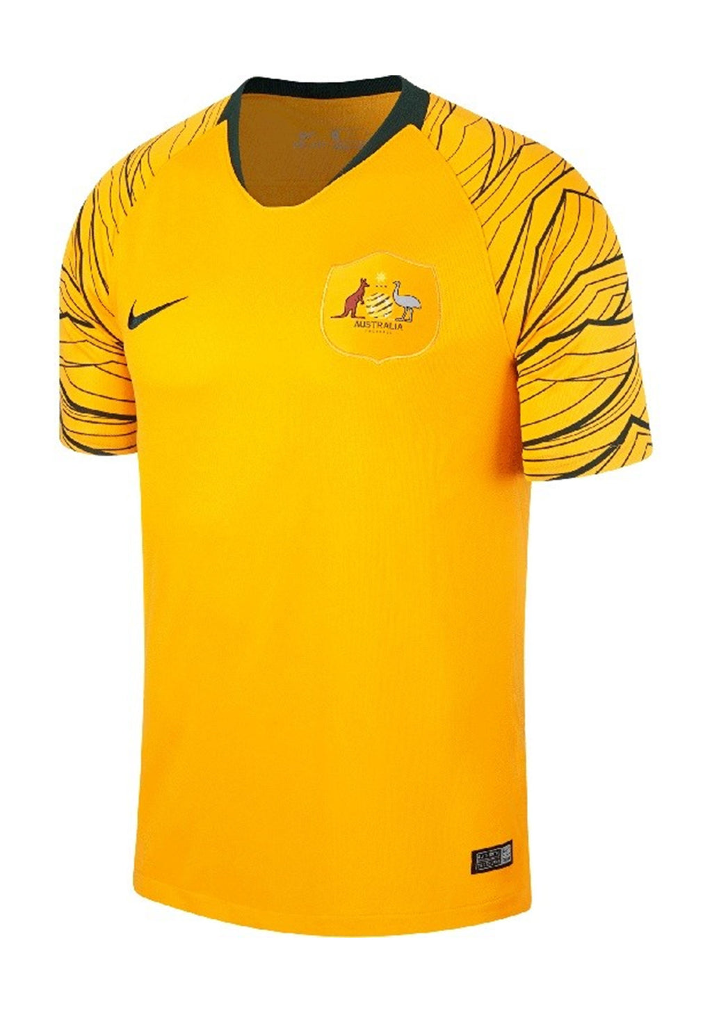 NIKE YOUTH 2018 SOCCEROOS STADIUM HOME JERSEY  <br> 893967 739