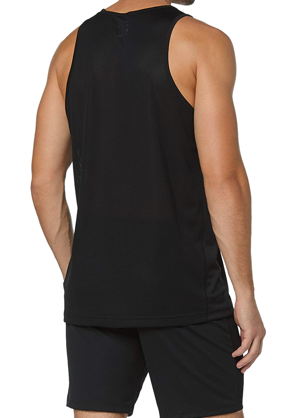 NIKE MENS DRI-FIT BREATHE RUNNING TANK BLACK <BR> AQ4939 010
