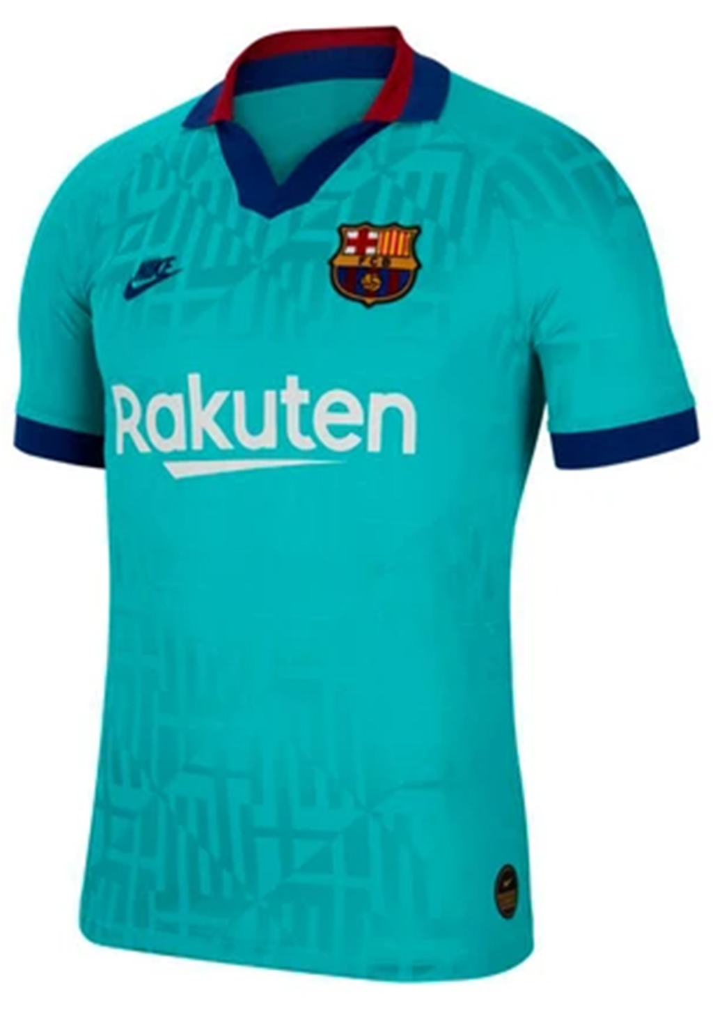 NIKE MENS FCB BARCELONA 2019/2020 THIRD JERSEY <BR> AT0029 310