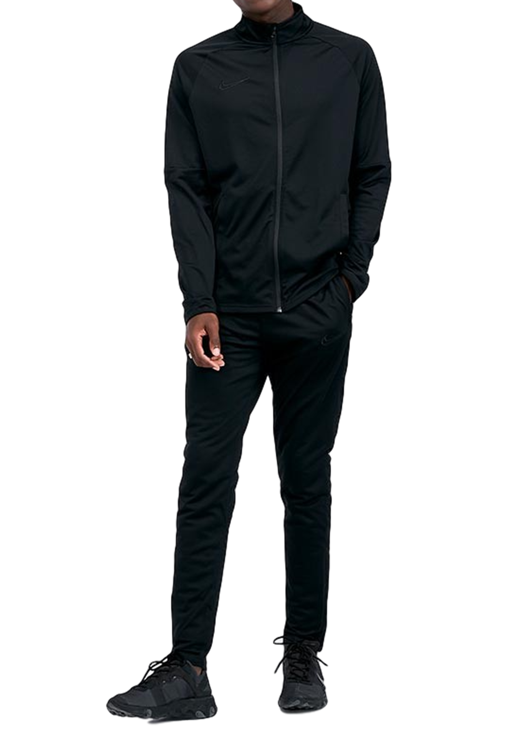 NIKE MENS DRI-FIT ACADEMY TRACKSUIT BLACK <BR> AO0053 011