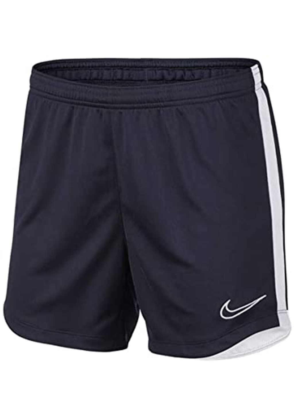 NIKE WOMENS DRI-FIT ACADEMY SHORTS NAVY <BR> AQ1780 451