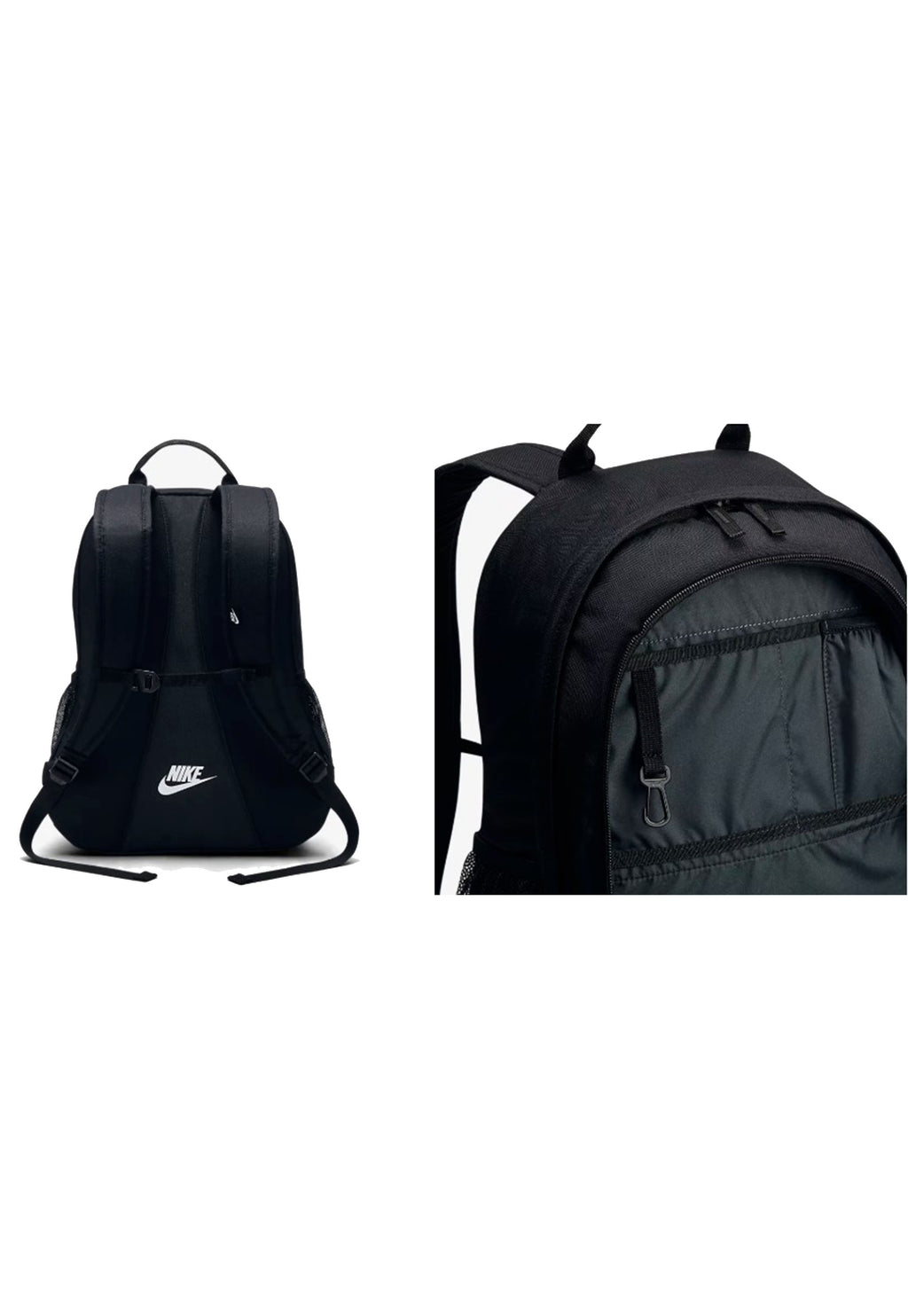NIKE HAYWARD FUTURA 2.0 BACKPACK BLACK/WHITE <BR> BA5217-010