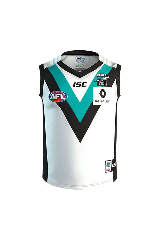 ISC PORT ADELAIDE POWER 2016 CLASH GUERNSEY JUNIOR <br> PA16AJS1K,- Jim Kidd Sports