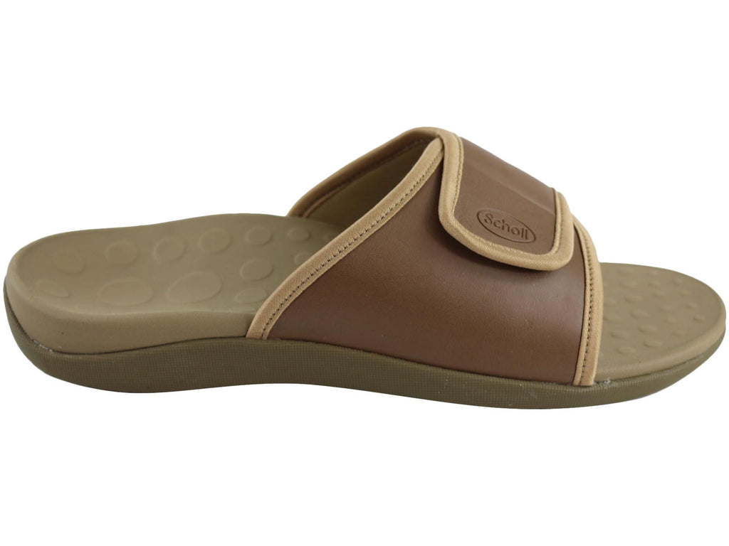 ORTHAHEEL MENS SPORT SLIDE TAN