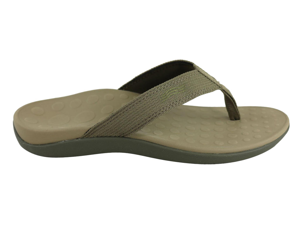 ORTHAHEEL WOMENS WAVE II THONGS IN KHAKI <br> F252831147