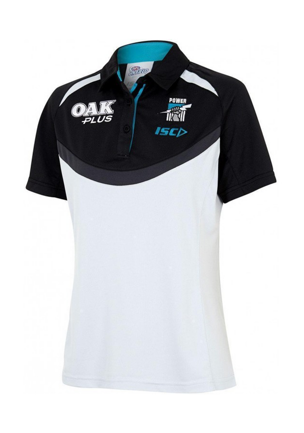 ISC PORT ADELAIDE POWER 2018 WOMENS MEDIA POLO SHIRT <br> PA18POL03L