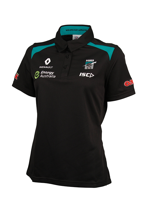 ISC PORT ADELAIDE POWER 2016 MEDIA POLO WOMENS <br> PA16POL1L,- Jim Kidd Sports