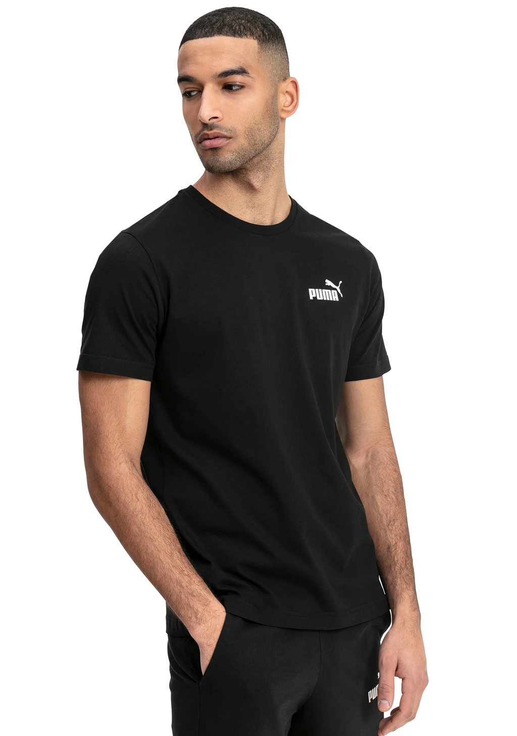 PUMA MENS ESSENTIAL SMALL LOGO TEE <br> 851741