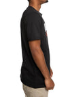 PUMA MENS SPORT GRAPHIC TEE BLACK <BR> 59813301