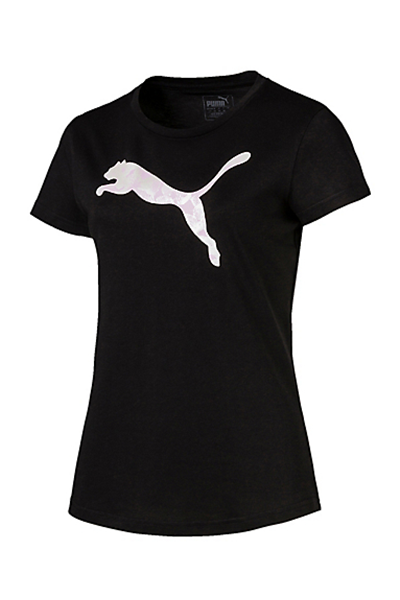 PUMA GRAPHIC LOGO TEE WOMENS <br> 853064 01