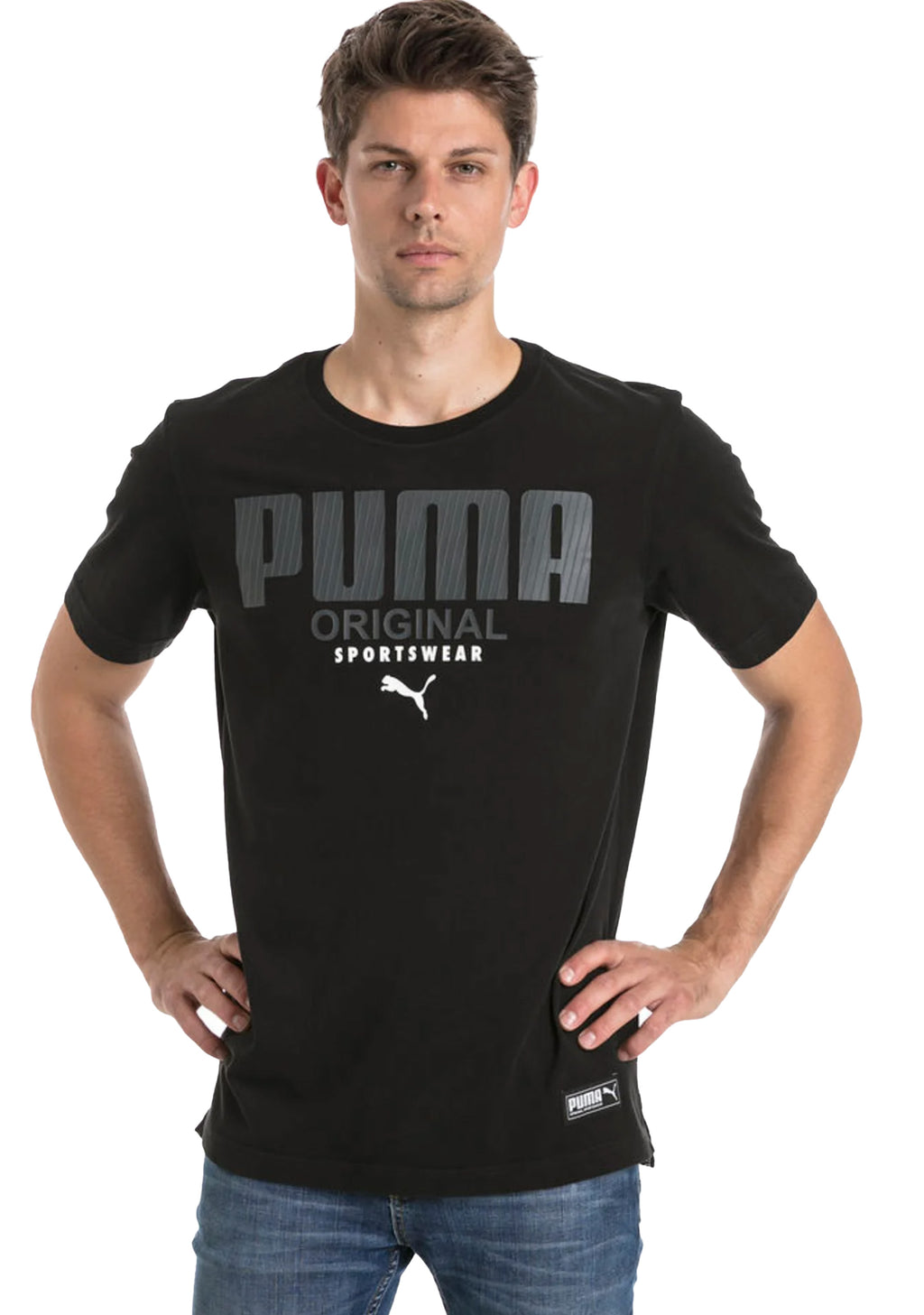 PUMA ATHLETICS TEE MENS <br> 852332 01