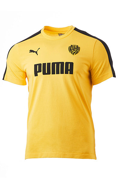 PUMA RICHMOND TIGERS FOOTBALL CLUB T7 TEE MENS <br> 70349902