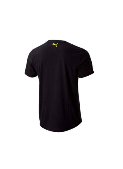 PUMA RICHMOND  TIGERS FOOTBALL CLUB  SHOE TAG TEE BLACK WOMENS <BR> 703900 01