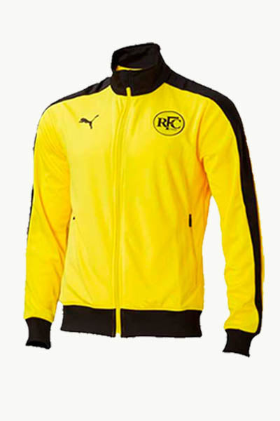 PUMA RICHMOND TIGERS FOOTBALL CLUB T7 JACKET YOUTH VIBRANT YELLOW <br> 70378602