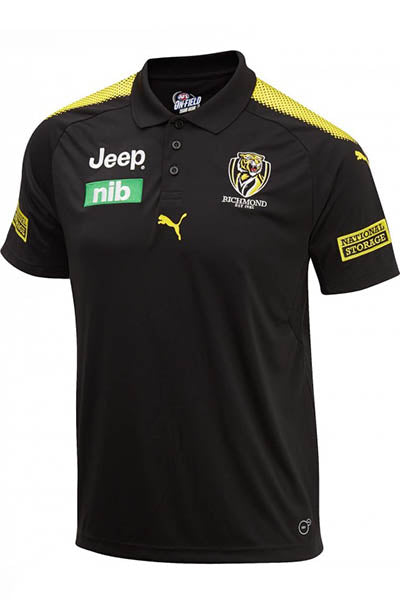 PUMA RICHMOND TIGERS FOOTBALL CLUB TEAM POLO MENS <br> 70348603
