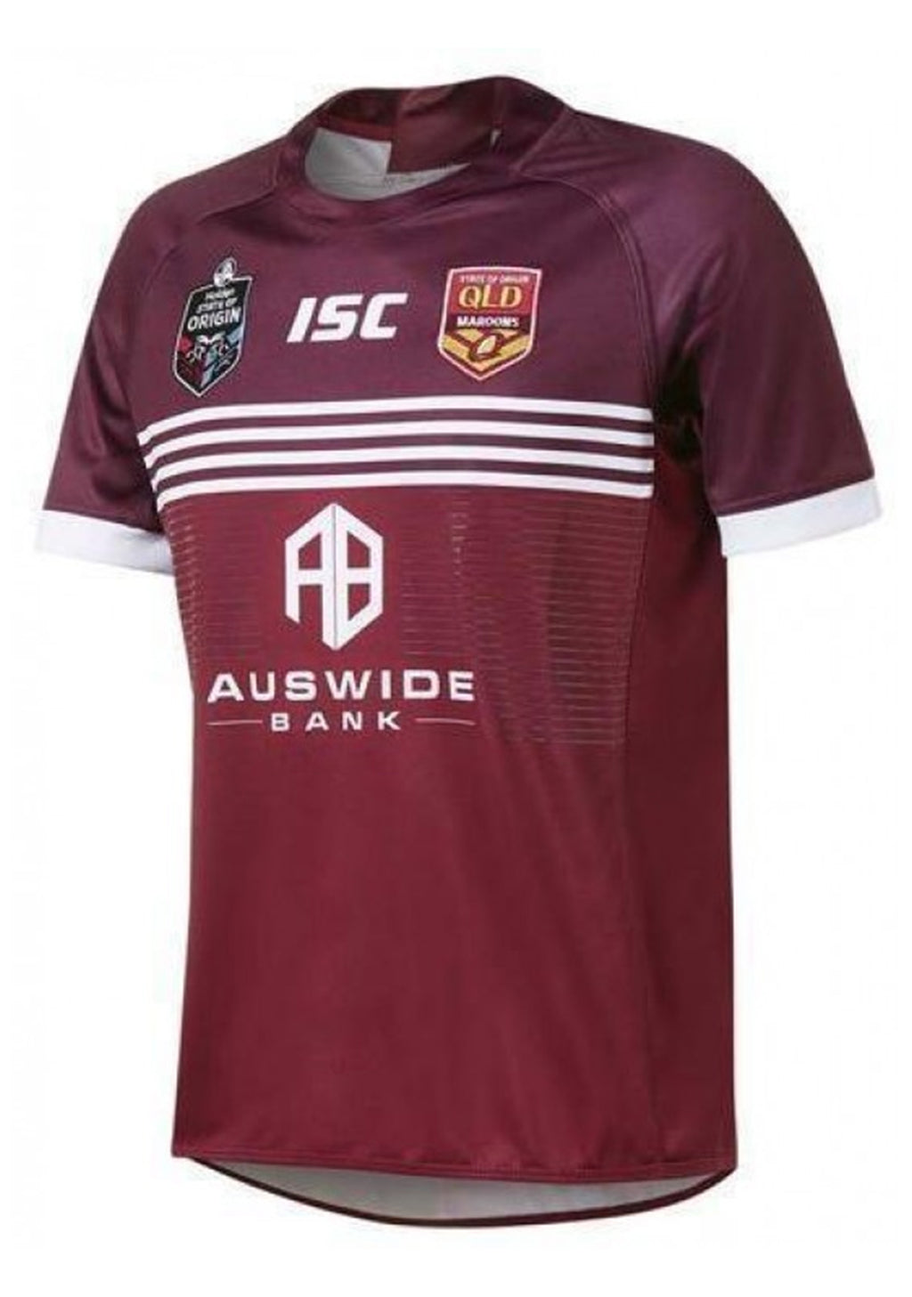 ISC QUEENSLAND MAROONS STATE OF ORIGIN 2019 HOME REPLICA JERSEY MENS <BR> QM19JSY01M