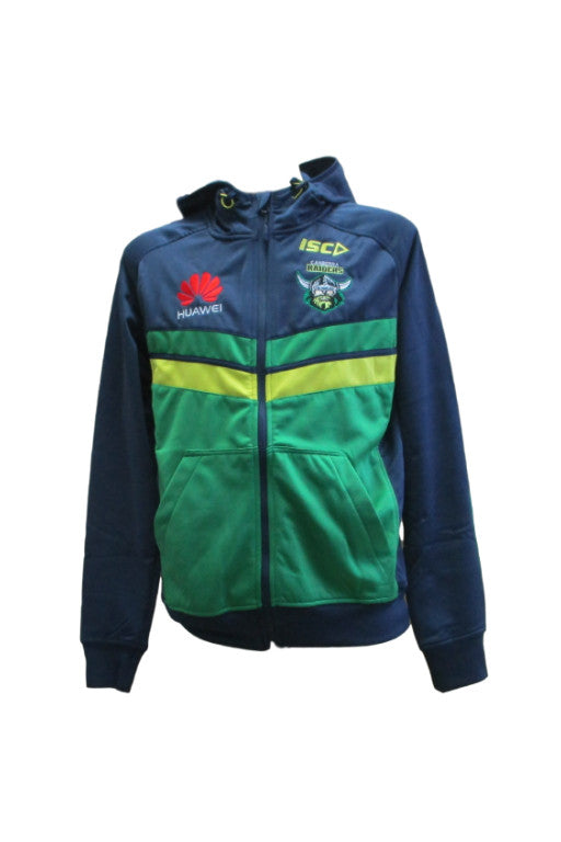 ISC CANBERRA RAIDERS TECH HOODIE MENS <br> 7CR5THD1A,- Jim Kidd Sports