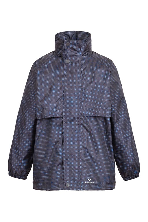 RAINBIRD JUNIOR STOWAWAY JACKET <br> K8004 GEO PRINT