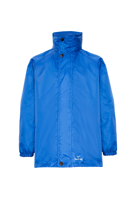 RAINBIRD JUNIOR STOWAWAY JACKET <br> K8004 ROYAL BLUE