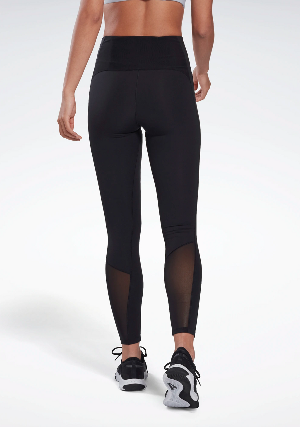 REEBOK WOMENS LUX PERFORM HIGH-RISE TIGHTS <br> FJ2870