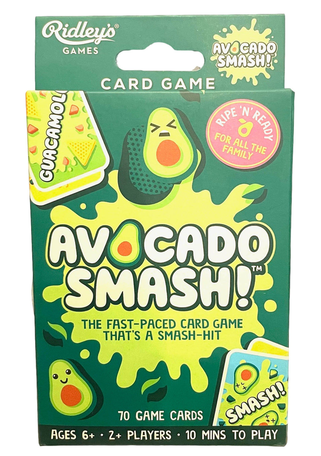 RIDLEYS AVOCADO SMASH CARDS