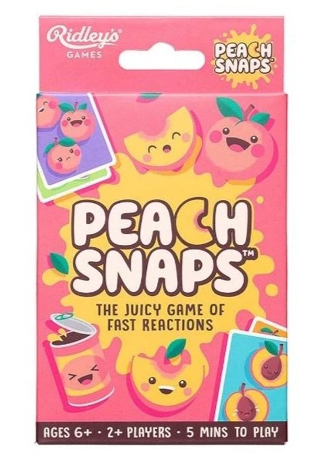 RIDLEYS PEACH SNAPS CARDS