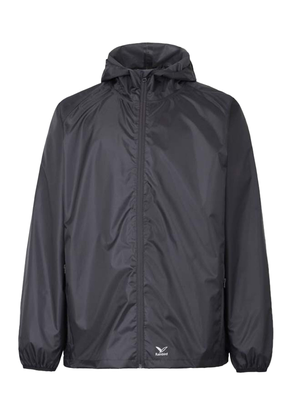 RAINBIRD UNISEX ADULTS GOSTOW RAIN JACKET BLACK <BR> 8531 BLK