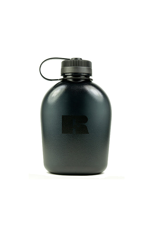 RUSSELL ATHLETIC 1 LITRE BOOT CAMP WATER BOTTLE <br> AD007BLACK