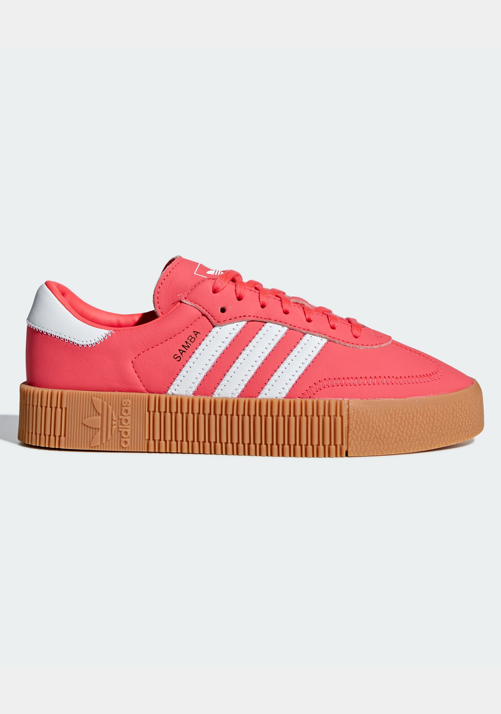 ADIDAS ORIGINALS WOMENS SAMBAROSE SHOES <br> DB2696