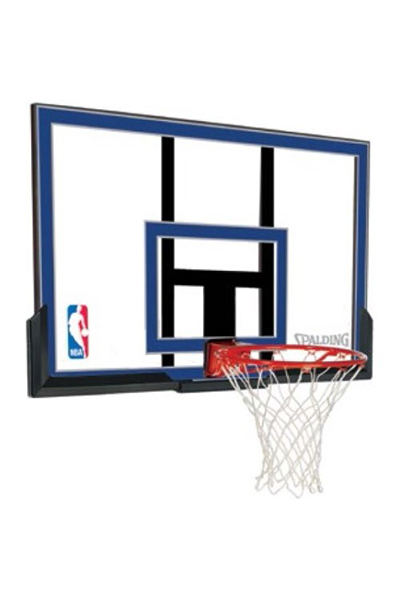 SPALDING 50 INCH ACRYLIC BACKBOARD & RING COMBO,- Jim Kidd Sports