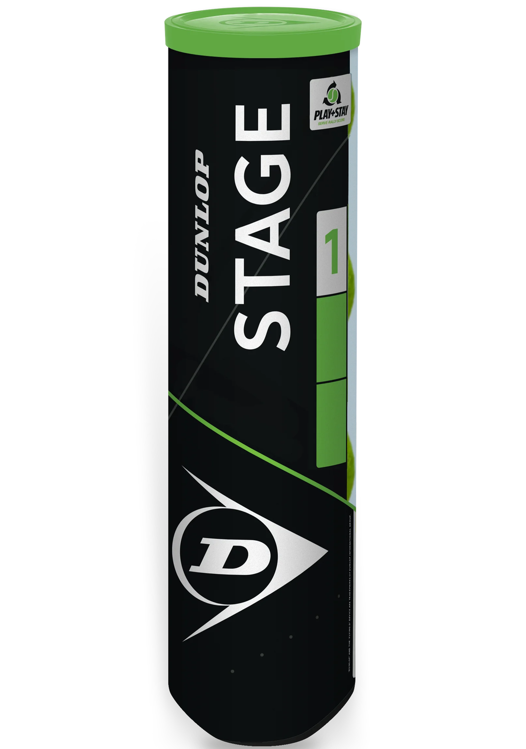 STAGE 1 GREEN LOW COMPRESSION BALL 4 BALL CAN