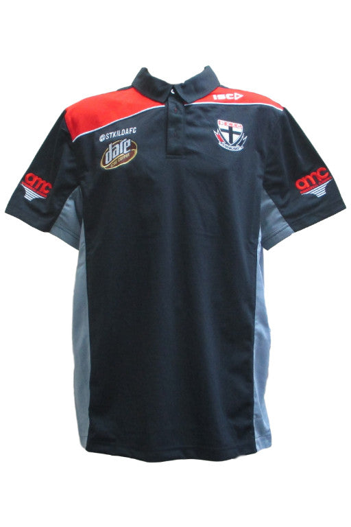 ISC ST KILDA SAINTS POLY POLO WOMENS <br> 7SK5POL1A,- Jim Kidd Sports