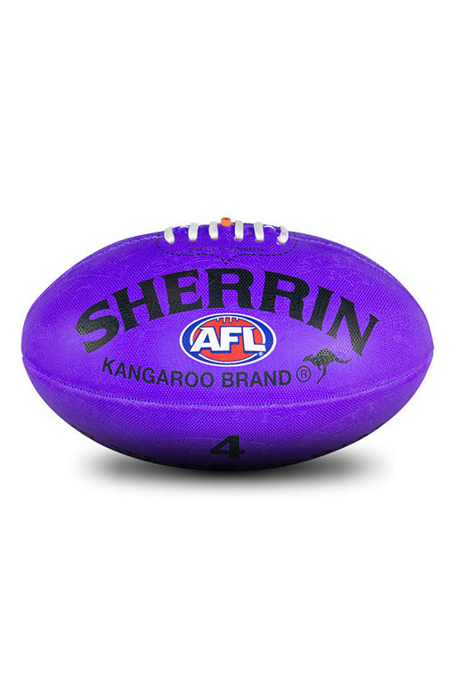 SHERRIN SYNTHETIC FOOTBALL PURPLE