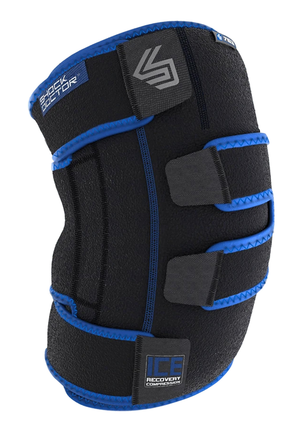 SHOCK DOCTOR ICE RECOVERY COMPRESSION - KNEE WRAP <BR> 753