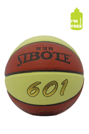 SIBOTE INDOOR OUTDOOR BASKETBALL 601 WITH FREE 2L WATER BOTTLE <BR> SBT-601