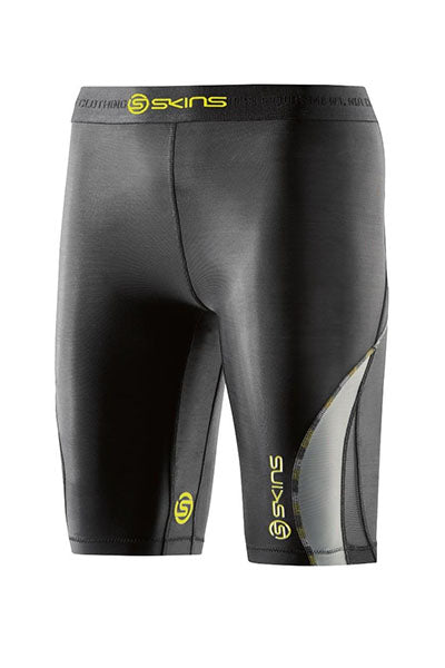 SKINS DNAMIC HALF TIGHT WOMENS <br> DA99060029240 BLK/LIMONCELLO