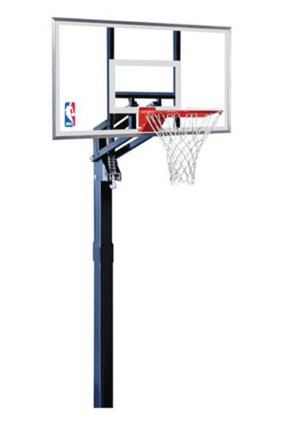 SPALDING 54 INCH GLASS (137CM) IN GROUND BASKETBALL SYSTEM (AVAILABLE FROM 4TH DECEMBER)  <br> SP54INACR