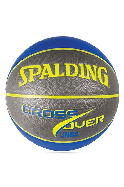 SPALDING NBA CROSSOVER BASKETBALL INDOOR/OUTDOOR <br> 5013 B-G