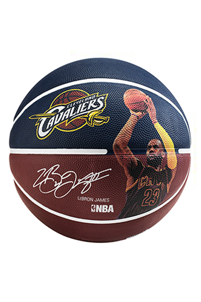 SPALDING NBA PLAYER SERIES LEBRON JAMES BASKETBALL <br> 5098 LBJ