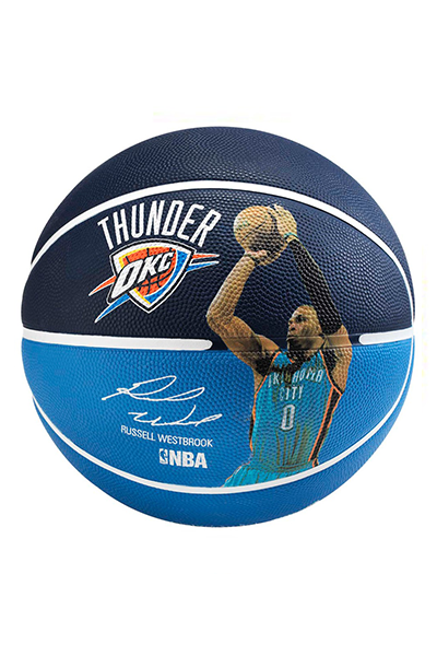 SPALDING NBA OKLAHOMA CITY THUNDER RUSSELL WESTBROOK BASKETBALL