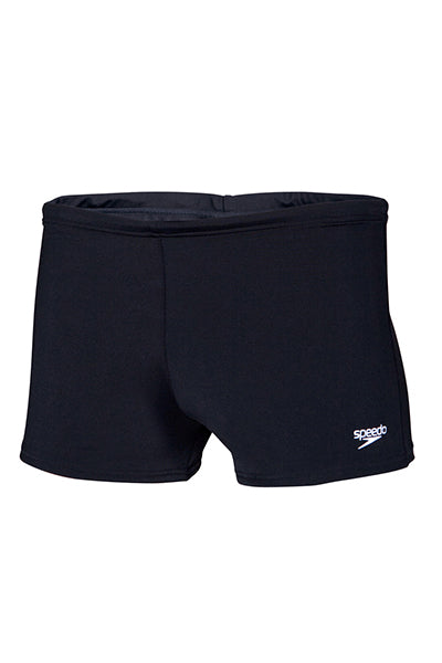 SPEEDO BASIC AQUA SHORTS MENS BLACK <br> 12C60 001