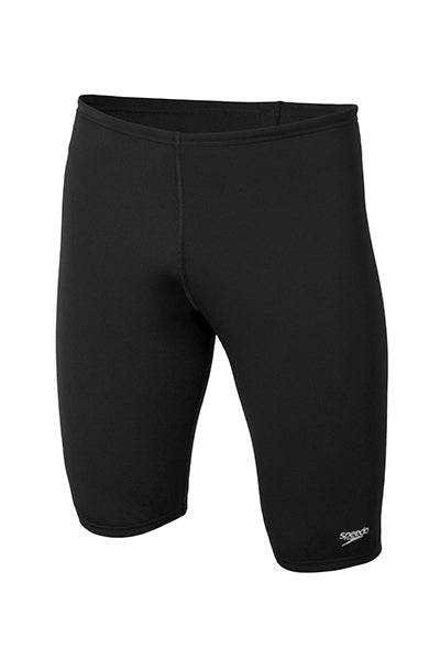 SPEEDO BASIC JAMMERS MENS BLACK <br> 12C66