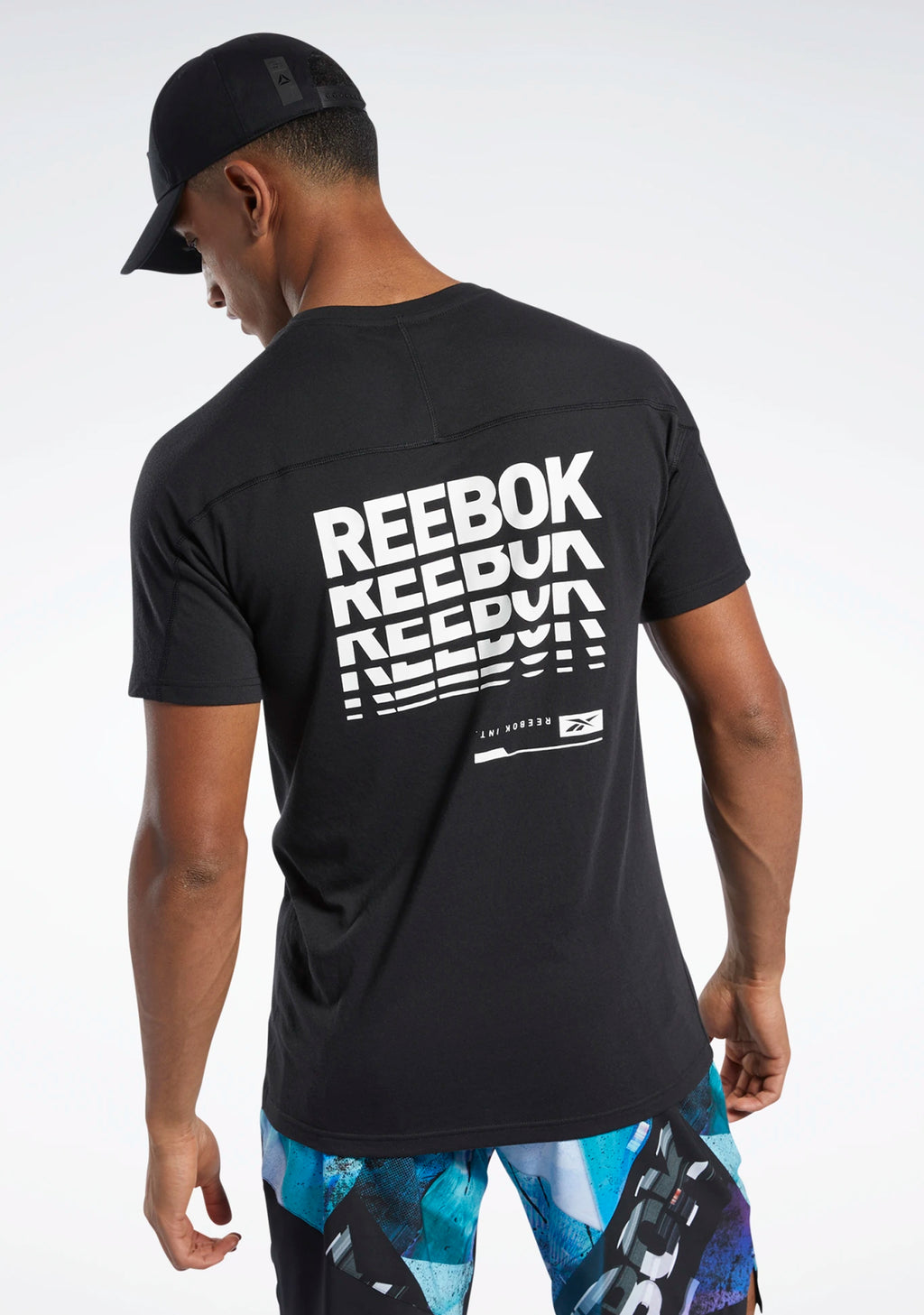 REEBOK MENS SPEEDWICK GRAPHIC MOVE TEE <BR> FJ4623
