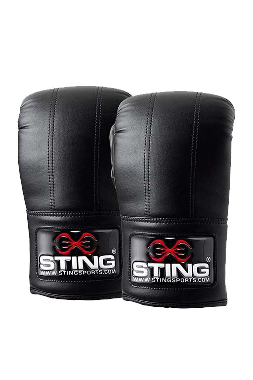 STING TWO STITCH BAG MITT <br> S10P-BM01-BLACK