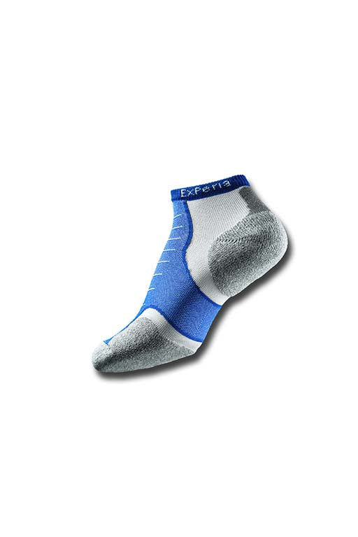THORLO ROYAL BLUE MICRO MINI SOCKS <br> ROYAL BLUE