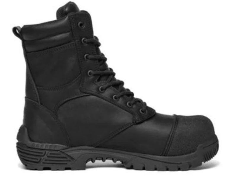 TRACERLITE MENS 8 INCH PHOENIX STRUCTURAL BOOT WITH TOE BUMP <BR> ET1011